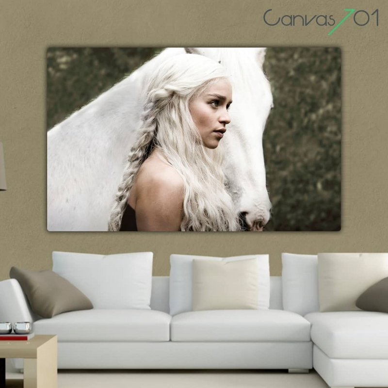Game of Thrones Daenerys Targaryen - GOT Kanvas Tablo
