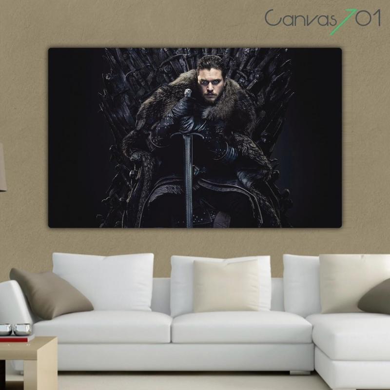 Game of Thrones Jon Snow Taht - GOT