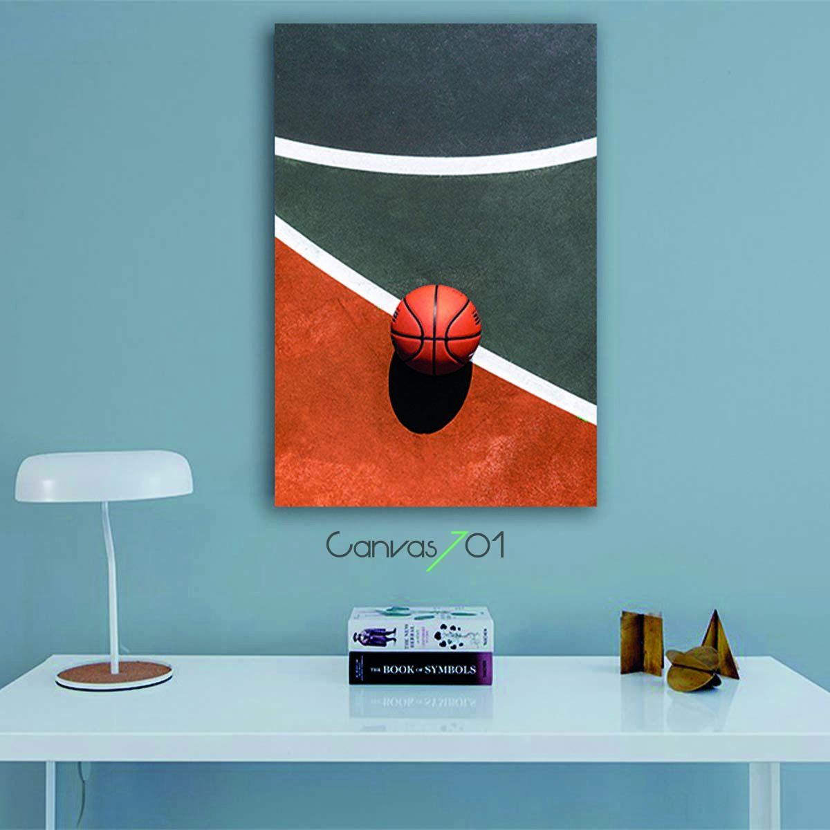 Basketbol Topu Canvas Tablo