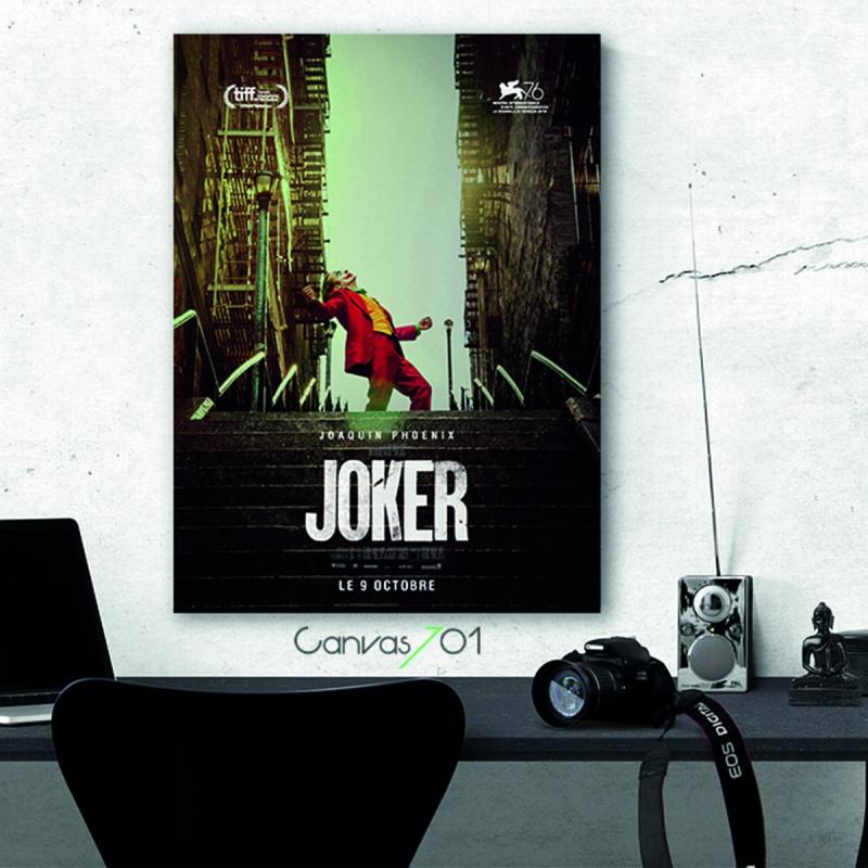 Joker Film Karakteri Canvas Tablo