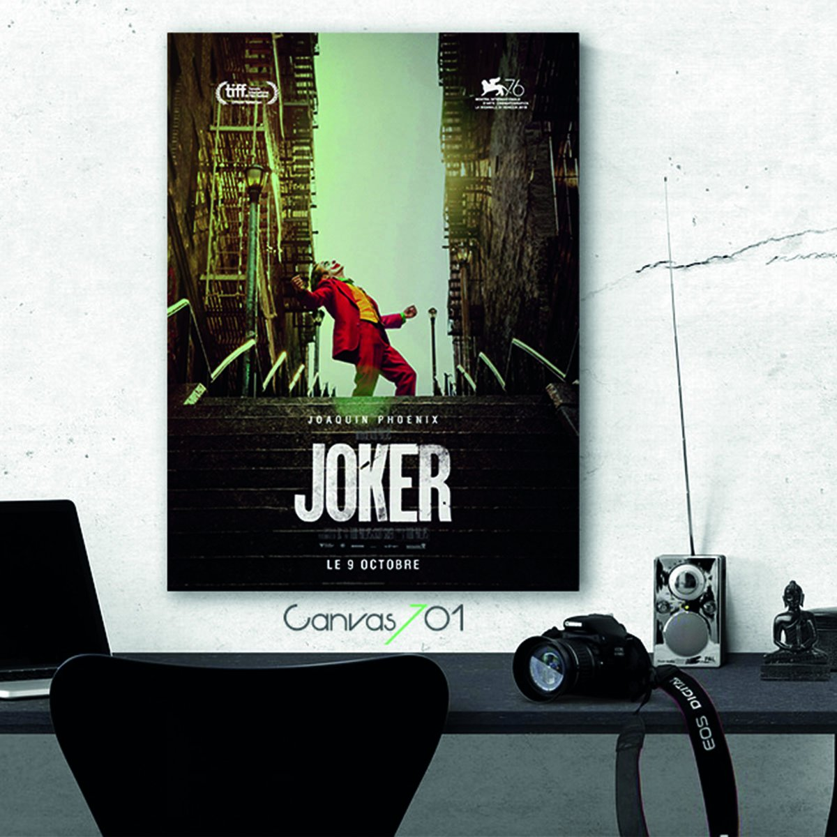 Joker Film Karakteri Canvas Tablo