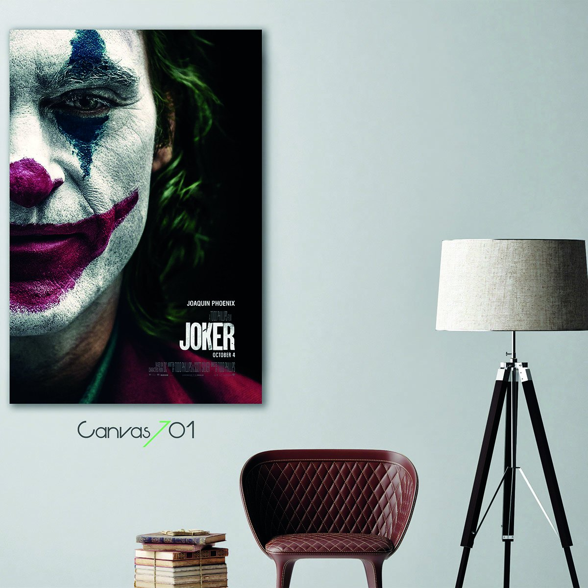 Joker Canvas Tablo