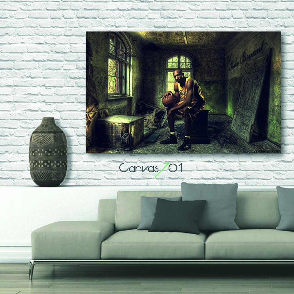 Kobe Bryant Canvas Tablo