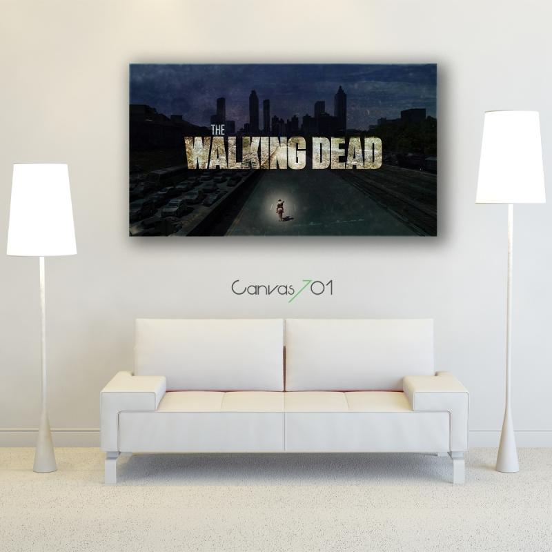 The Walking Dead Kanvas Tablo