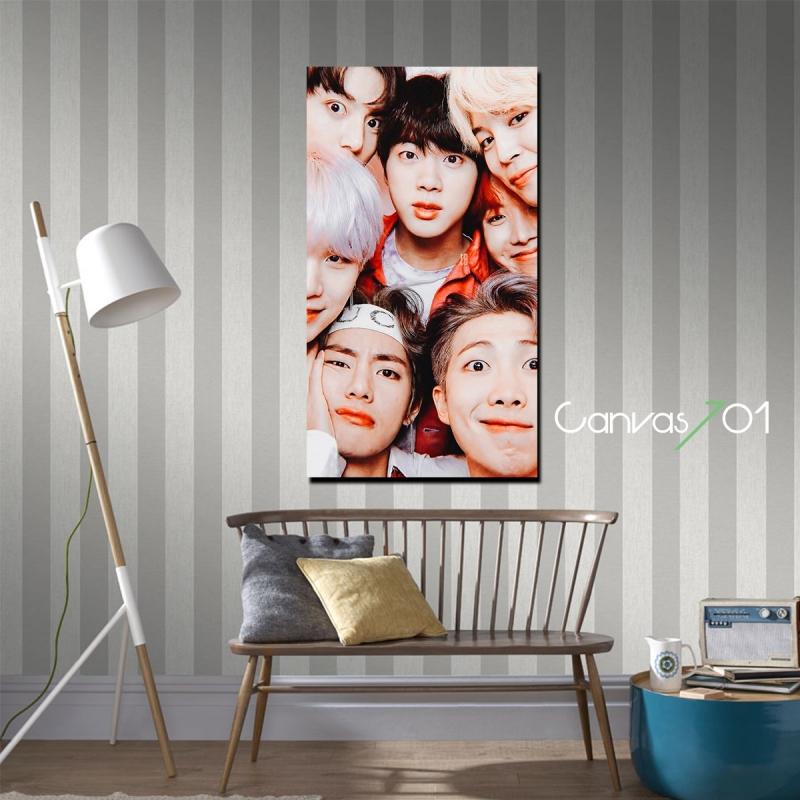 BTS 3 Kanvas Tablo