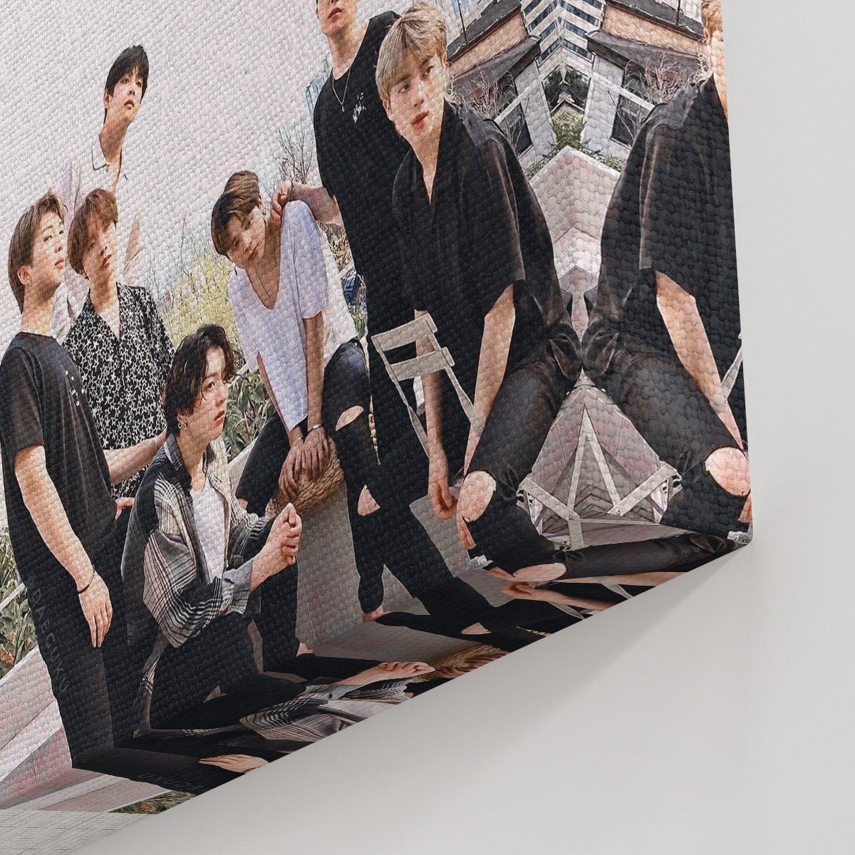 BTS Kanvas Tablo