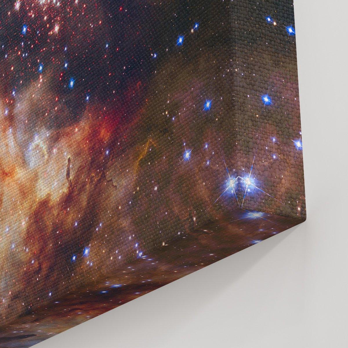 Yıldız Bulutu Kanvas Tablo