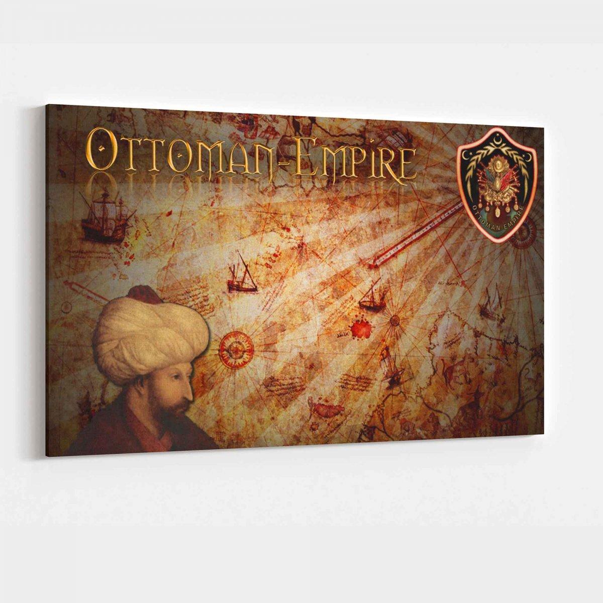 Osmanlı Kanvas Tablo