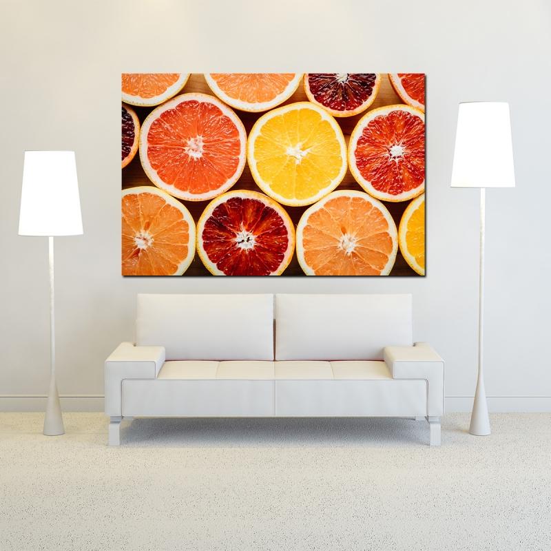 Portakallar Kanvas Tablo